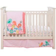 Migi Blossom Crib Bedding Migi Modern Blossom 3pc Crib Bedding Collection Bundle Walmart