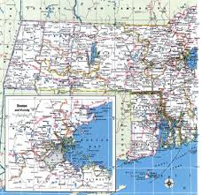 Map Of Massachusetts by Massachusetts County Map