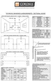 garage measurements technical information u2013 coroma