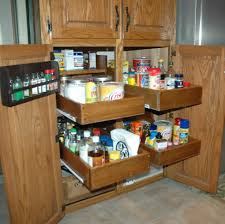 Sliding Kitchen Cabinet Shelves Pull Out Cabinet Shelves Ideas U2014 Home Ideas Collection
