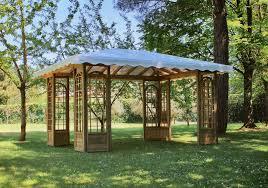 gazebo da giardino in legno prezzi barsotti legnami vendita patio e gazebo per arredamento giardino