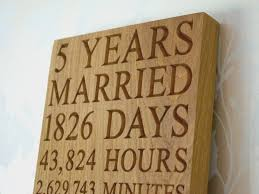 five year anniversary gift 5th anniversary wall plaques makemesomethingspecial 5th