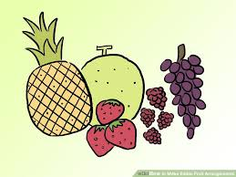 how to make fruit arrangements how to make edible fruit arrangements 8 steps with pictures