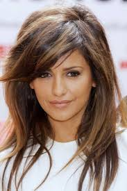 hairstyles with bangs medium length hair medium haircuts with side swept bangs medium length hair with side