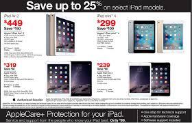 ipad mini 4 64gb black friday staples unveils black friday steals with 25 percent off apple ipad