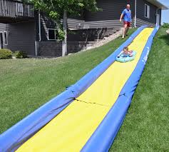 Best Backyard Water Slides Inflatable Water Slide Bounce House Waterslide Backyard Kids Fun