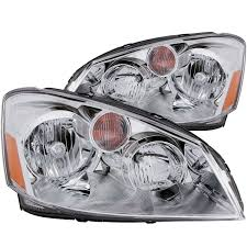 2016 nissan altima headlight replacement amazon com anzousa 121294 crystal clear amber headlight for