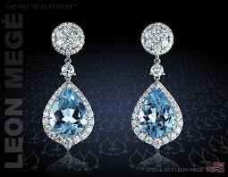 detachable earrings detachable drop earrings with aquamarines and diamonds by mege