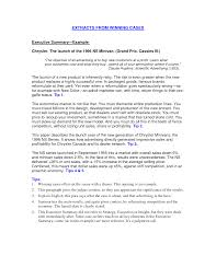 It Resume Summary Examples by Resume Executive Summary Statement Examples Augustais
