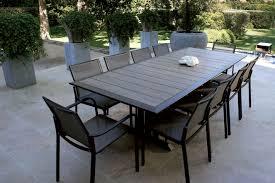 Table Avec Rallonge Pas Cher by Table Exterieur Contemporain