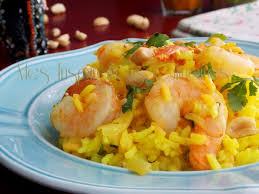 curcuma cuisine riz pilaf aux crevettes curcuma et lait de coco le cuisine de