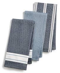 martha stewart kitchen collection martha stewart collection 3 pc waffle weave kitchen towels