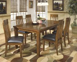 ashley dining room furniture set signature design by ashley ralene casual 7 piece dining set with