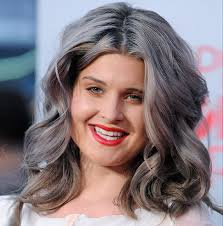 trendy grey hair dare to go grey the hottest hair trend for spring 2015 pics