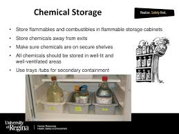 what should be stored in a flammable storage cabinet chemical laboratory safety training ppt video online download