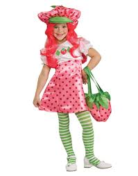 fruit halloween costumes for kids strawberry shortcake child halloween costume walmart com