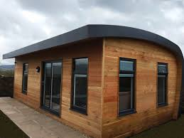 designer eco living pods for use as granny annexes granny flats