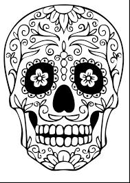 100 ideas dia de los muertos printable coloring pages for kidss