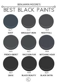 the best black paint colours for any room benjamin moore paint