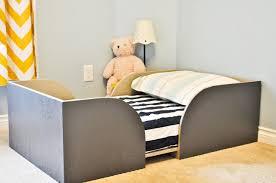 Crib Mattress Toddler Bed Chris And Sonja The Sweet Seattle Diy Toddler Bed