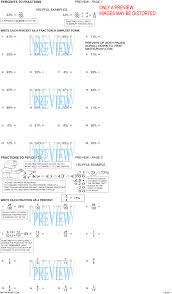 Math 7th Grade Worksheets Percent Worksheets By Math Crush