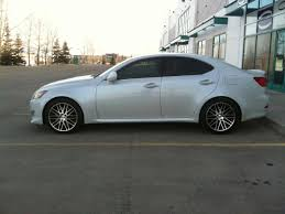 lexus is 250 custom wheels looking to see is u0027s with aftermarket wheels on stock suspension