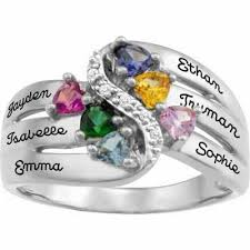 6 mothers ring 15 best mothers rings images on rings names