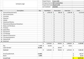 construction schedule templates u0026 form templates for excel
