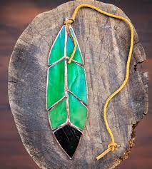 stained glass home decor stained glass mallard feather home decor u0026 lighting the