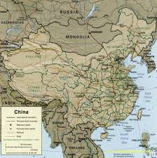Chinese Map China Maps In English Maps Of China China City Maps China Travel