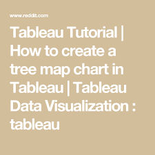 tableau visualization tutorial tableau tutorial how to create a tree map chart in tableau