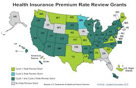 Expense Insurance Rates by Health Insurance Rate Approval Disapproval State Implementation