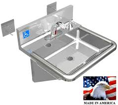 Kitchen Faucets Made In Usa by Ada Hand Sink Made In Usa Stainless Steel 304 Electronic Faucet