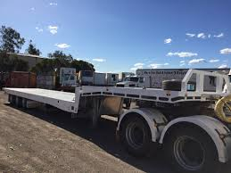 kenworth t300 for sale australia 48ft tilt tray tri axle trailer nsw truck dealers australia