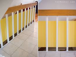 Child Proof Banister Stylish Staircase Babyproofing An Update The Mombot