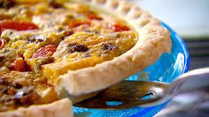 quiche cuisine az trisha s country quiche recipe food