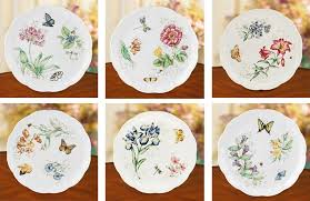 lenox butterfly meadow dinner plate set of 6 plates lenox