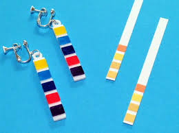 paper ear rings ph litmus paper earrings kcxnne9t6 by scicouture
