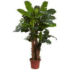 Home Decor Artificial Trees Artificial Banana Tree Ebay