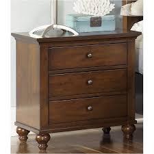 341 br61 liberty furniture hamilton bedroom 3 drawer night stand