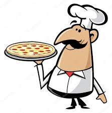 chef pizza pizza chef stock vector slipfloat 21593065
