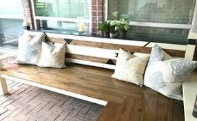 L Bench Diy Outdoor Storage Bench Hometalk