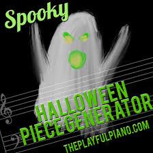 spooky halloween piece generator