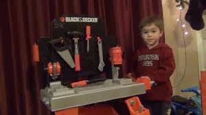 black and decker workbench unboxing and playtime youtube