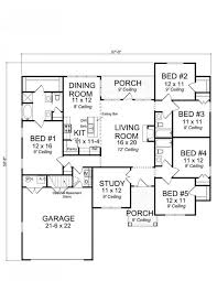 five bedroom home plans luxury 5 bedroom 3 bath house plans new home plans design