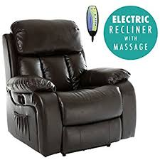 Motorised Recliner Armchairs Cavendish Electric Recliner Chair With Heat Massage Choice Of