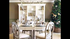 elegant christmas dinner table decoration ideas youtube