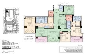 St Regis Residences Floor Plan Extraordinary Price For Gorgeous 3 Bedroom Condo At Terminus