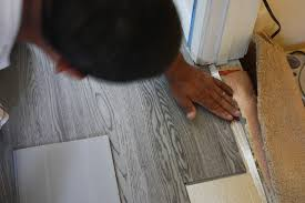 Vinyl Click Plank Flooring Hello Pretty New Floors Office Floor Installation
