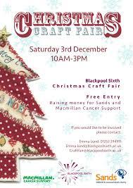 bag a gift at blackpool sixth u0027s christmas craft fair the